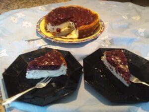 Nana´s Käse-Kirsch Kuchen