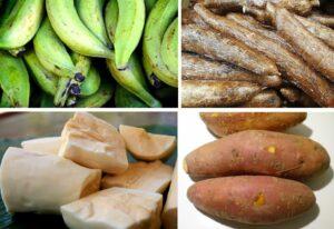 Read more about the article Yuca-Kochbanane-Süßkartoffel-Auflauf