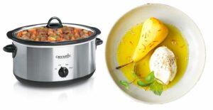 Read more about the article Winterliche Birnen mit Safran aus dem Slow Cooker