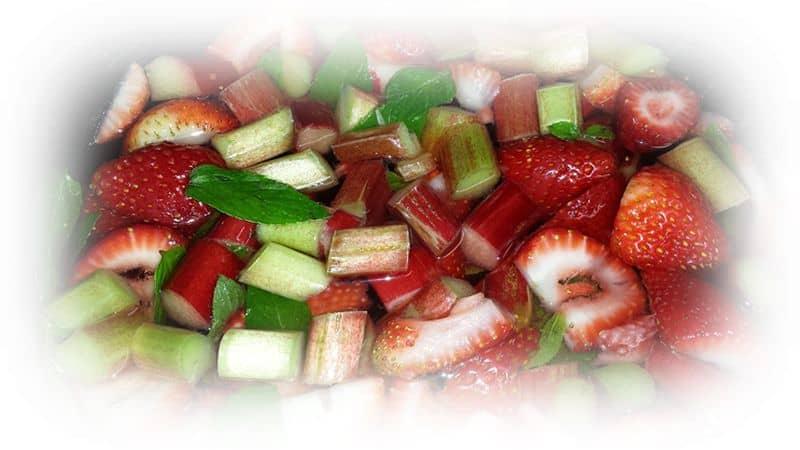 Erdbeer- Rhabarber-Konfitüre